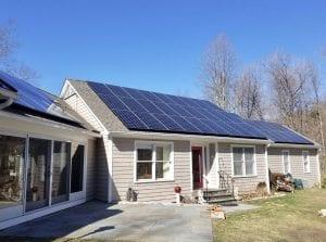 SAVKAT Solar Roof install
