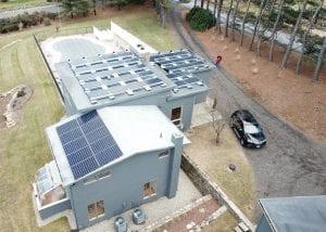 SAVKAT Solar flat roof