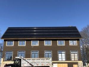 SAVKAT SunPower Roof Mount 98 panels Solar PV